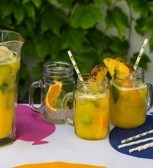Ananasovo-mangová limonáda