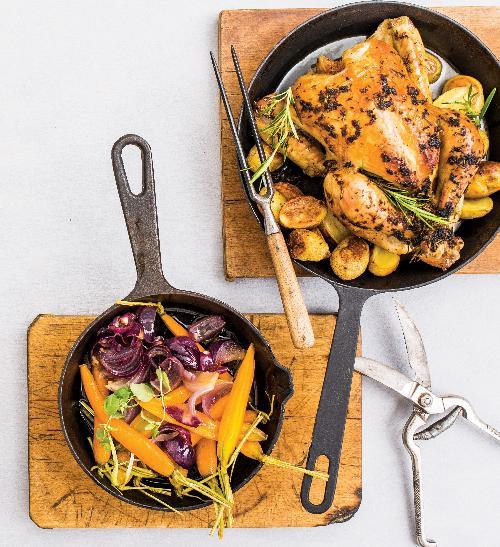 Podzimní pečené kuře
