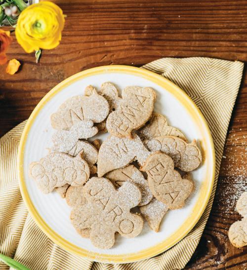 Velikonoční sušenky zkokosové mouky